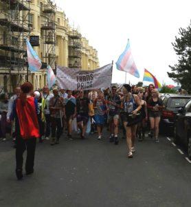 The Trans Pride March